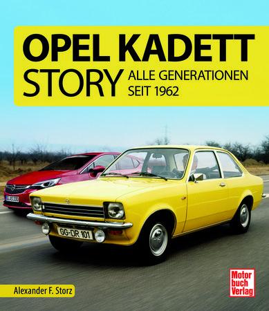 Cover Opel Kadett Story - Alle Generationen - Heel Verlag