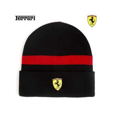 Artikelbild Original Scuderia Ferrari Beanie in schwarz | Heel Verlag