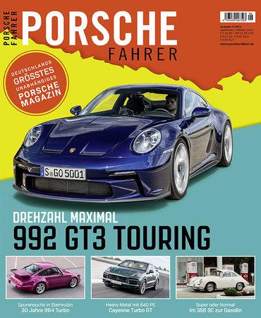 Magazincover PORSCHE FAHRER 6-2021 | HEEL Verlag