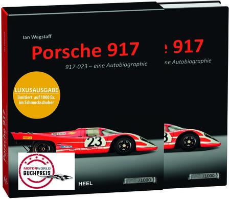 Buchcover Porsche 917-023 | Heel Verlag