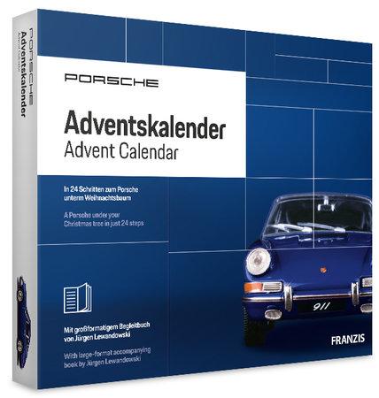 Cover Porsche Adventskalender 2019 - Bau Deinen eigenen, detailgetreuen Porsche - Heel Verlag