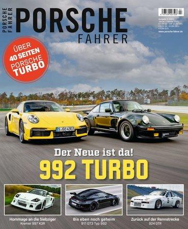 Magazincover PORSCHE FAHRER 2-2021 | HEEL Verlag
