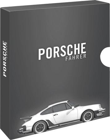Buchcover PORSCHE FAHRER Sammelschuber vom HEEL Verlag