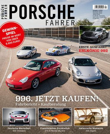Cover Porsche Fahrer Magazin Ausgabe 1-2019