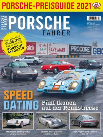 Magazincover PORSCHE FAHRER 3-2021   HEEL Verlag