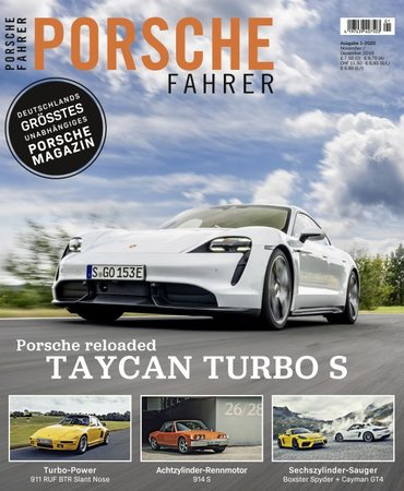 Magazincover PORSCHE FAHRER Magazin - Ausgabe 1/2020 | HEEL Verlag