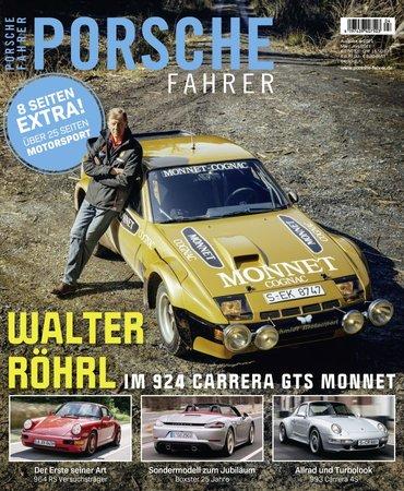 Magazincover PORSCHE FAHRER 4-2021 | HEEL Verlag