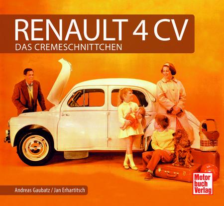 Cover Renault 4CV - Typenmonografie über den kleinen Franzosen - Heel Verlag
