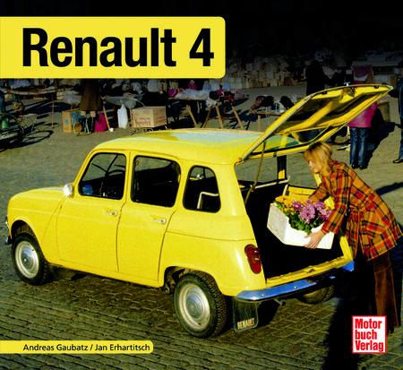 Buchcover Renault R4 | Heel Verlag