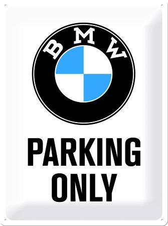Artikelbild Retro-Blechschild: BMW parking only | Heel Verlag