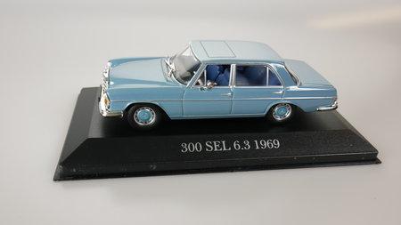 Artikelbild Sammlermodell Mercedes 300 SEL 6.3 von 1969 | Heel Verlag