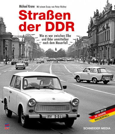 Cover Straßen der DDR | Heel Verlag