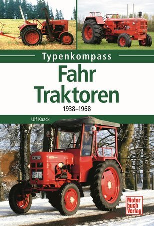 Buchcover Typenkompass: Fahr-Traktoren | Heel Verlag