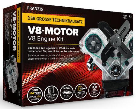 Abbildung Motor-Bausatz: Den eigenen V8-Motor selber bauen | Heel Verlag