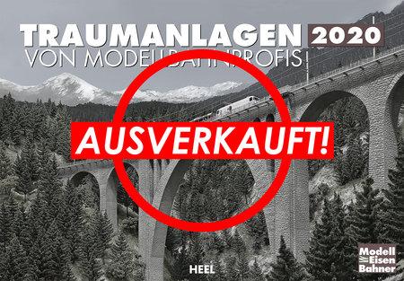 Kalendercover Traumanlagen von Modellbahn-Profis 2020 vom Heel Verlag