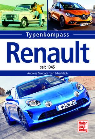Cover Typenkompass Renault seit 1945 - Heel Verlag