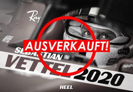 Kalendercover Sebatian Vettel 2020 vom Heel Verlag