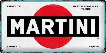 Artikelbild Vintage-Blechschild: Martini | Heel Verlag