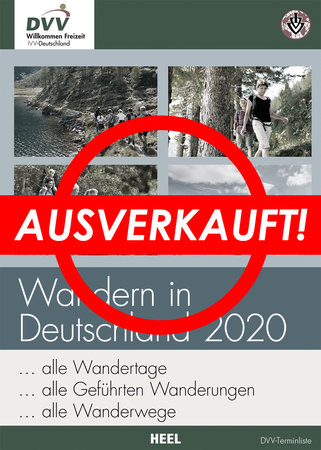 Buchcover Wandern in Deutschland 2020 | Heel Verlag