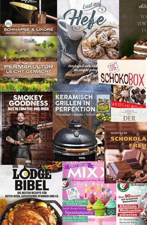 Kochbuch-Überraschungspaket Nr.1   Heel Verlag