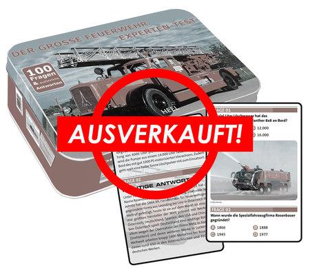 Buchcover Feuerwehr Experten-Test | Heel Verlag