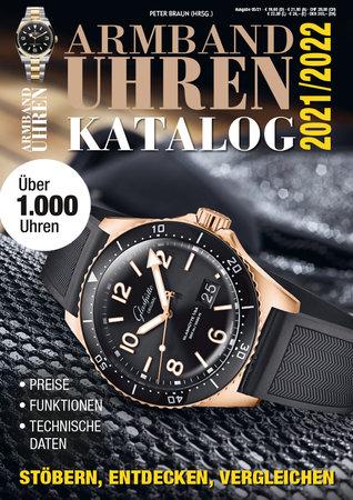 Buchcover Der Armbanduhren Katalog 2021/2022 | Heel Verlag