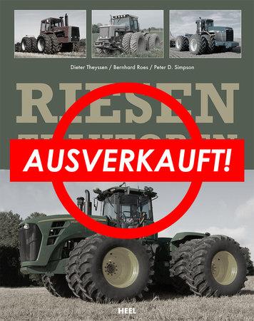 Buchcover Riesentraktoren | Heel Verlag