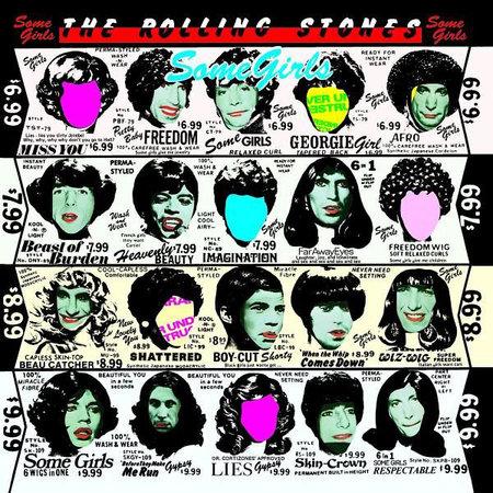 Albumcover The Rolling Stones: Some Girls (CD) | Heel Verlag