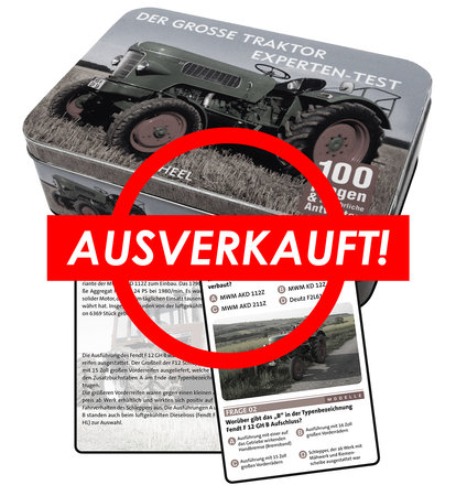 Buchcover Der große Traktor Experten-Test | Heel Verlag