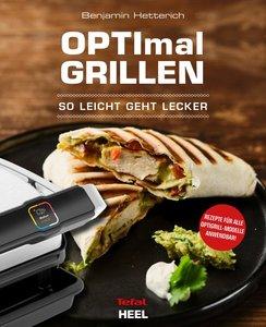 Buchcover Neue Rezepte für den OptiGrilll. So einfach - so lecker | Heel Verlag